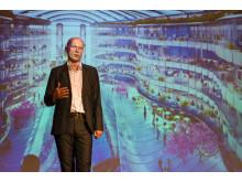 Michael Pawlyn besökte Stockholm Furniture Fair i februari