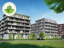 Kv. Mammutträdet, Finja Prefabs första projekt med klimatpositiv betongstomme