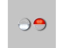 Minilampa Eclipse, grå