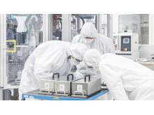 Battericelleproduktion i Salzgitter