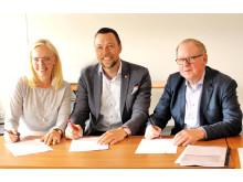 Annika Brandin, Rickard Gegö, Stig Sjöberg