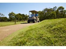 Prydliga golfbanor tack vare Elastopave® från BASF