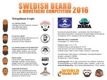 programblad swedish beard moustache competition