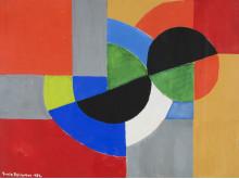 Sonia Delaunay-Terk, Rythme couleur, 1952