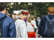 Joanna Swica på Way Out West med Interflora