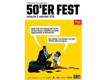 Plakat for 50'er festen
