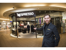 Lars Rolandsen, Boutique Manager Nespresso pop-up Boutique Ski Storsenter