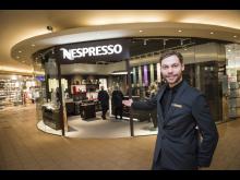 Lars Rolandsen, Boutique Manager Nespresso pop-up Boutique Ski Storsenter