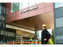 Alexander Eliasson, arbetsplatsansvarig på Fortnox