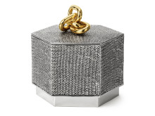 Pewter box made by Estrid Ericson to her husband in the 1970s