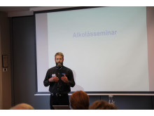 Konferansier Björn Strandberg