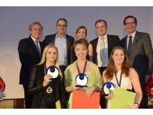 Die Preisträgerinnen des AccorHotels Azubi Awards 2016
