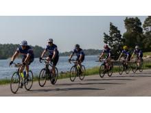 Gran Fondo Stockholm 2014 cyklister