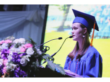 NIST International School's Class of 2016 valedictorian