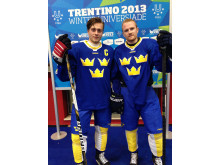 Studentkronor - Joakim Thomson och Wiking Westlund