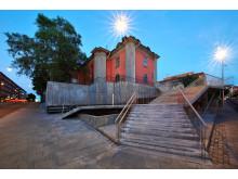 Hörsalsparken - ny trappa