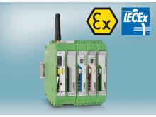 Radioline wireless system adds Ex certification