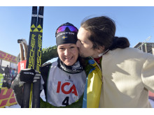 Britta Johansson Norgren  vann TjejVasan 2016, segerpuss