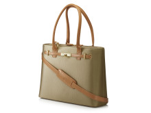 "HP 15.6"" Premium Tote (Tan), left facing beige HP20150908394"