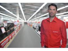 Carl Lumsden, logistikansvarig på Media Markt