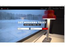 Skärmdump från mtr.se