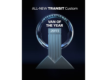 INTERNATIONAL VAN OF THE YEAR 2013 - FORD TRANSIT CUSTOM