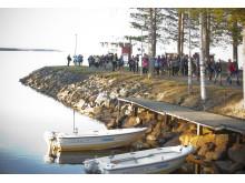 Visit Arctic Europe sales workshop närmare 200 deltagare på väg mot kvällens middag