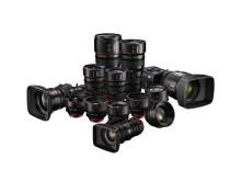 Canon Cinema lens range