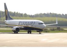 Ryanair flyger mellan Västerås-London