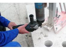 Ny metode for genbestykning af kernebor - Steg 2: Rengøring