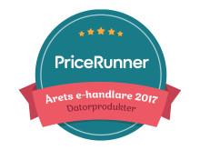 Pricerunner Årets e-handlare Datorprodukter 2017