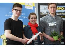 Studerende fra Edith Stein skolen i Ravensburg, Tyskland