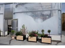 Sydskogen skole, skum-isolert drivhus
