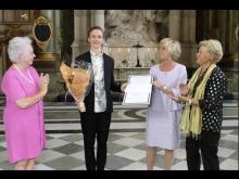 Olof Mårtensson, 2014 års mottagare av Sigrid Paskells stipendium inom scenkonsterna (teater)