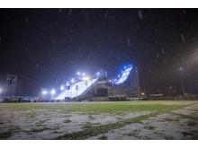 Olympiaworld stadion i Innsbruck er ny arena for Air & Style. Foto: Matt Pain / Snowboardforbundet