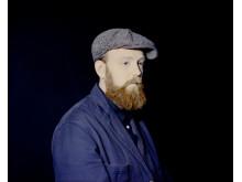 Joel Danell får SKAP:s Intrumental-pris. Foto: Jennifer Bersen