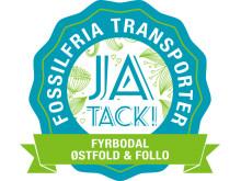 Hela Gröna Vägen - Fossilfria Transporter 2030, Ja tack!