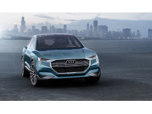 Audi e-tron quattro concept - static front right side - electric green