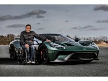 Jason Watt & his Ford GT1