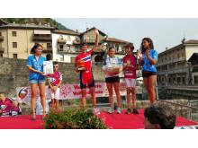 Odd Christian Eiking vant etappe to i Aosta 2015