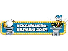 Keksijänero 2017 -kilpailun logo