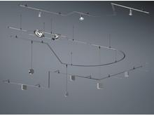 Skensystemet VIA i olika längder med massor av kopplingsdetaljer