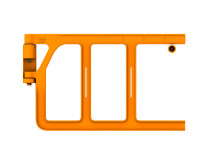 Axes Gate fallskyddsgrind för stegar och plattformar - Dubbel