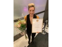 Sandra Petersson, Årets yrkeslärare 2019
