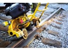 Slipning av järnvägsräl
