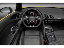 Audi R8 Spyder - cockpit