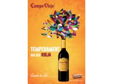 Temperament aus der Rioja - Campo Viejos erste Mediakampagne