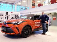 Oppgradert Toyota C-HR er klar for veiene i Mo i Rana