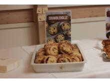 Crumblebolle på Unibakedagen 2019