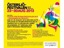 Pressinbjudan till kickoff för Östersjöfestivalen 2013